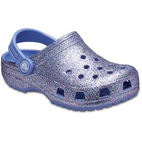 Crocs Classic Glitter Clogs Kinderen, lapis